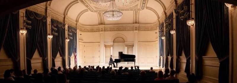 Solo Piano Concert at Carnegie Hall.