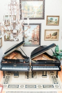 Two Steinway and Sons Grand Piano