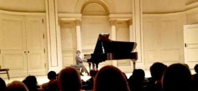Student Performing at Carnegie Hall