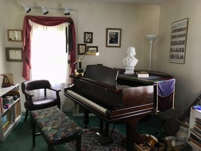 Piano Studio of Topsfield